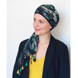 Foulard chimio New Delhi Fantaisie Coton Look hat me