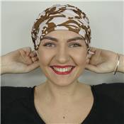Turban en bambou Lucie multicolore Autrement Belle