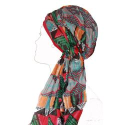 Foulard chimio New Delhi Fantaisie Coolmax Look hat me