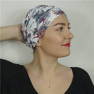 Turban chimio bambou Marie multicolore Autrement Belle